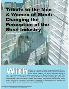 CCD Spring Summer 2016_Tribute to Men & Women of Steel_Business Rewritten