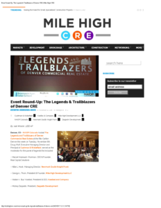 Mile High CRE_Event Round-Up The Legends & Trailblazers of Denver CRE_Business Rewritten