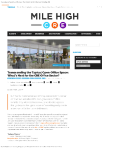 Mile High CRE_Transcending the Typical Open-Office Space_Business Rewritten