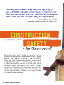 CCD Magazine Spring Summer 2017_Construction Safety_Business Rewritten