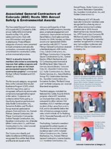 CCD Magazine Summer 2017_AGC 30th Annual Safety Awards_Business Rewritten