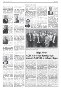 CREJ_ACEC Colorado Foundation awards scholarships_May 2018_Business Rewritten