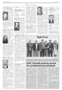 CREJ_ACEC Colorado Presents Awards for Contributions by Individuals_July 2018_Business Rewritten