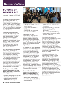 CCD Magazine Fall 2017_Future Downtown Denver_Business Rewritten