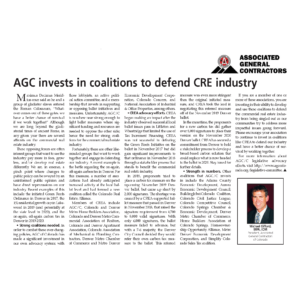 AGC Invests in Coalitions to Defend CRE Industry_CREJ_Oct 2019_Business Rewritten