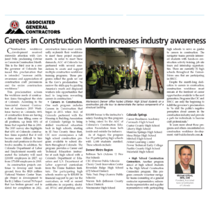 Careers in Construction Month Increases Industry Awareness_CREJ_Nov 6 2019_Business Rewritten