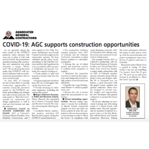 COVID-19: AGC Supports Construction Opportunities_CREJ_Business Rewritten_Editor